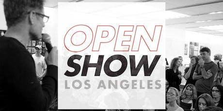 Open Show tickets