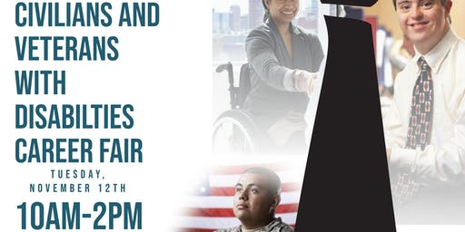 Civilians and Veterans with Disabilities Career Fair