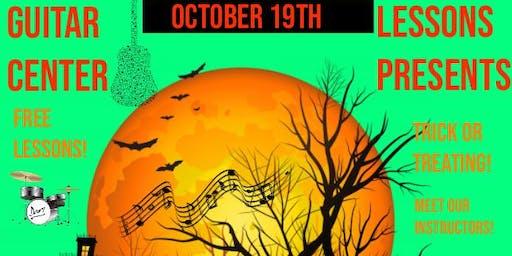 Guitar Center Lessons Halloween Open House
