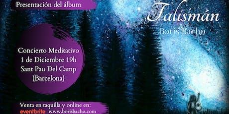 """Presentación del álbum """"Talismán"""" de Boris Bacho entradas"""