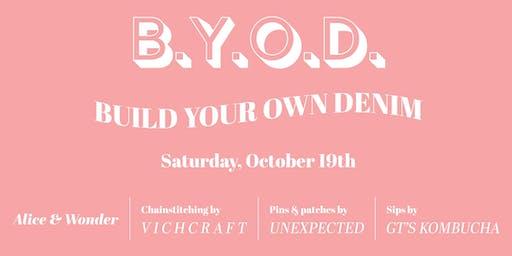 BYOD: Build Your Own Denim