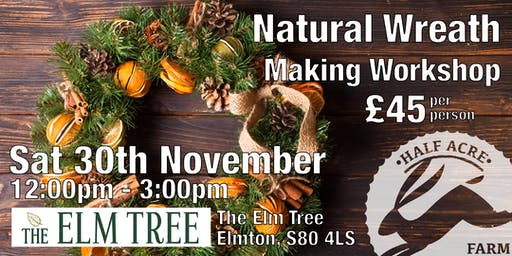 Natural Wreath Making