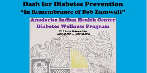 Anadarko Indian Health Center Diabetes Awareness 5K & 1 Mile Fun Run/Walk