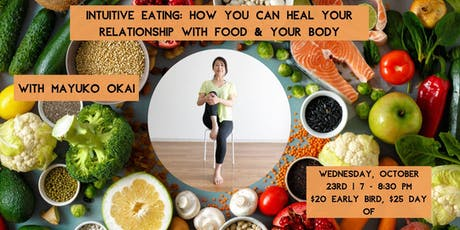 Intuitive Eating: How you can heal your relationship with food & your body tickets