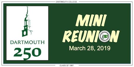 Dartmouth '87 Mini-Reunion (Seattle) tickets