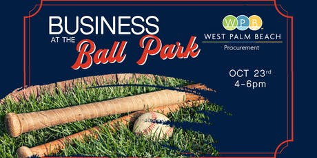Business at the Ballpark: City of West Palm Beach Procurement Meeting tickets