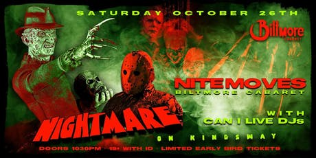 Nightmare on Kingsway - Halloween Party tickets