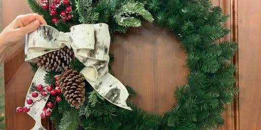 DECK THE HALLS: WREATHS! A TREETIME HOLIDAY WREATH MAKING WORKSHOP