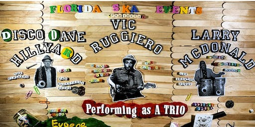 Vic Ruggiero, Dave Hillyard & Larry McDonald at Uncle Lou's Orlando