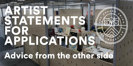 Artist Statements for Applications