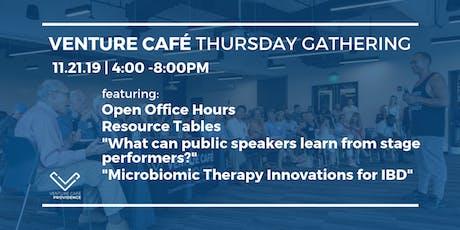Venture Café Thursday Gathering at District Hall Providence tickets
