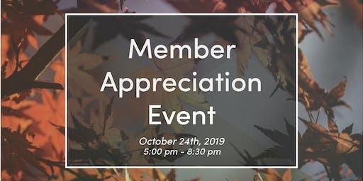Member Appreciation Event (For Bergamot Members Only)