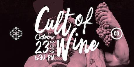 Cult of Wine by Saint Joseph's Arts Society & Company Fine Wine tickets