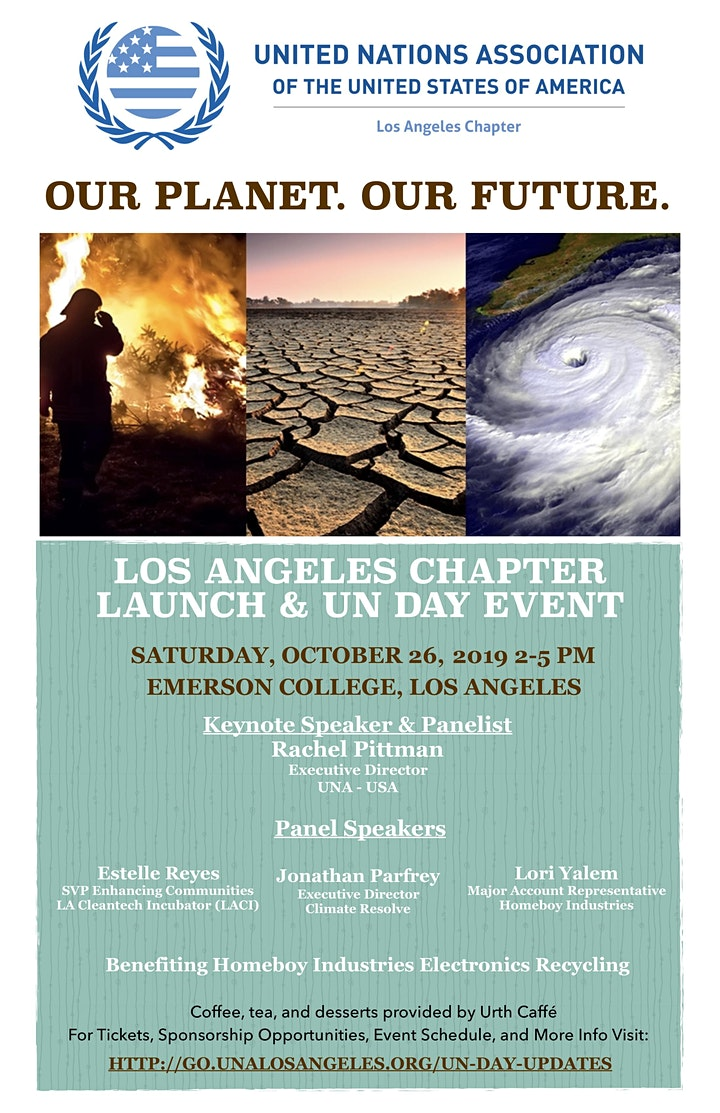 UNA Los Angeles Chapter Launch & UN Day image