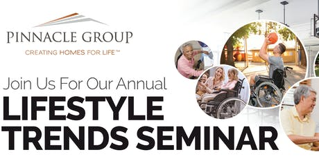 Lifestyle Trends Seminar! tickets
