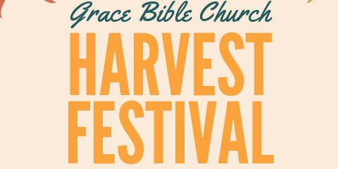 Grace Bible Church Harvest Festival