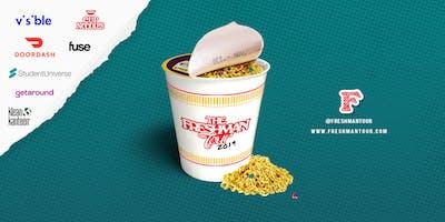 The Freshman Tour Pop Up & Concert: Doordash, Cup Noodles, Visible, Fuse TV