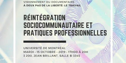 Soirée Discussion - Réintégration Sociocommunautaire