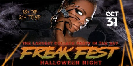 FREAK FEST | THE BIGGEST HALLOWEEN COLLEGE PARTY IN BAY @ COMPLEX OAKLAND tickets