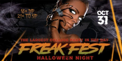 FREAK FEST | THE BIGGEST HALLOWEEN COLLEGE PARTY IN BAY @ COMPLEX OAKLAND