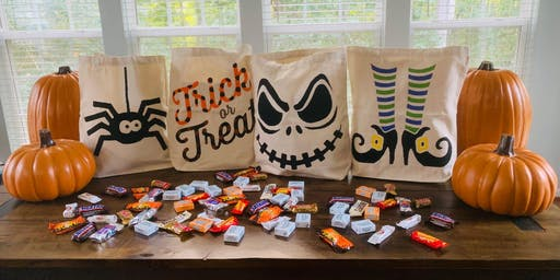 Tricks and Treats Kids Painting