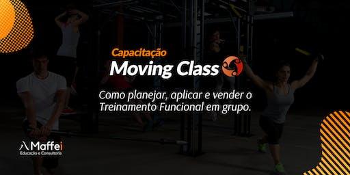 Capacitação Moving Class - Treinamento funcional para grupos.