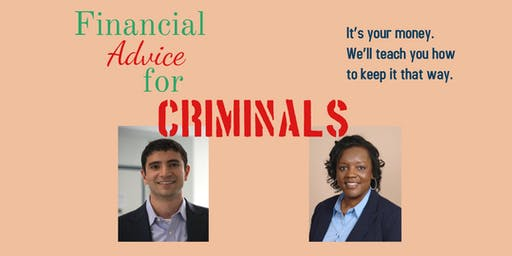 Financial Advice for Criminals