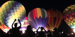 Cathedral City Hot Air Balloon Fest Balloon Glow Lounge & Food Truck Fiesta