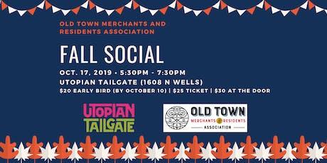 OTMRA Fall Social tickets