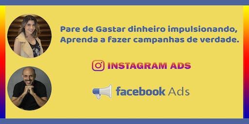 Instagram e Face ADS:  Aprenda e pare de gastar dinheiro impulsionando.