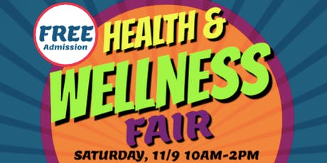 Health & Wellness Fair tickets
