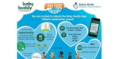 Baby Buddy Celebration Event - Telford