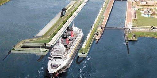 Bedrijfsbezoek: Nieuwe Zeesluis (Rijkswaterstaat & OpenIJ)