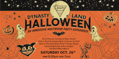 DYNASTYLAND Halloween Party! tickets