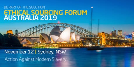 Ethical Sourcing Forum - Sydney, NSW, Australia tickets