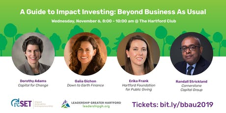 Beyond Business as Usual - Impact Investing tickets