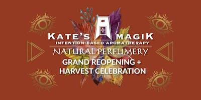 Kate's Magik Grand Reopening + Harvest Celebration