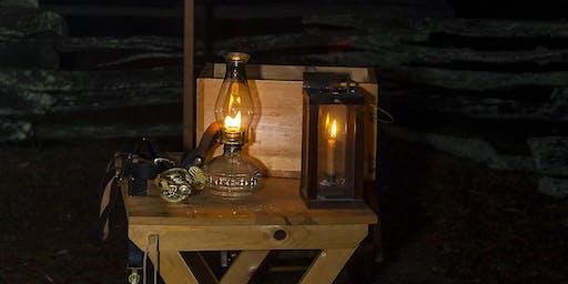 Civil War Candlelight Tour Program