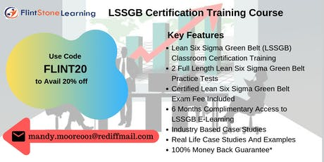 LSSGB Bootcamp Training in Mobile, AL tickets