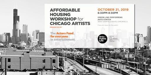 Affordable Housing Workshop for Chicago Artists