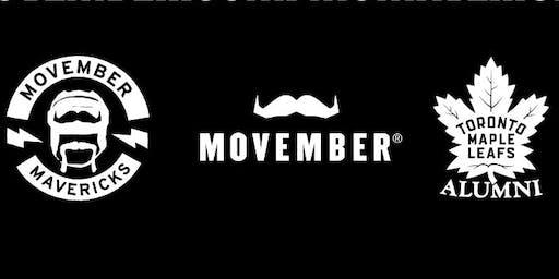 Movember Canada presents the Toronto Maple Leafs Alumni Game