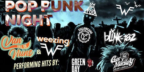 Pop Punk Night! feat. Weezing (A Tribute To Weezer) & Van Full Of Nuns tickets