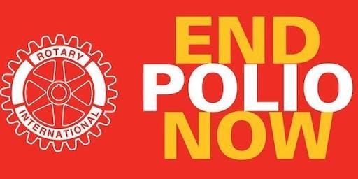 World Polio Day - Polio Purple Pinkie Run Kick Off Mixer