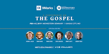 9Marks Conference on The Gospel tickets