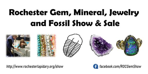 Rochester Gem, Mineral, Jewelry & Fossil Show and Sale