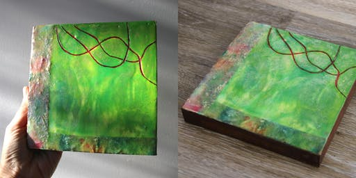 Intro to Encaustic Painting (Day Retreat)