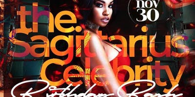 Sagittarius Celebrity Bday Bash