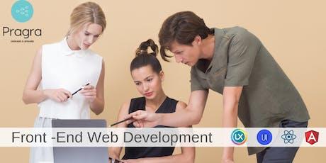 Front End Web Development Program - UX/UI Designer Track tickets
