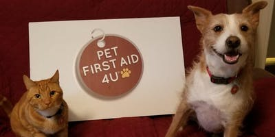Pet First Aid/CPR with Arden, Kona and Casey!
