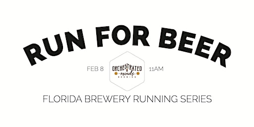 Beer Run - Orchestrated Minds Brewing | 2019-2020 FL Brewery Running Series